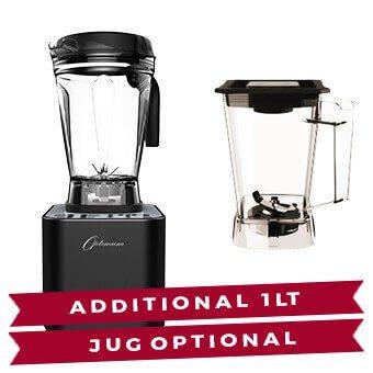Optimum G2.6 - Zwart - Extra Jug 1 liter
